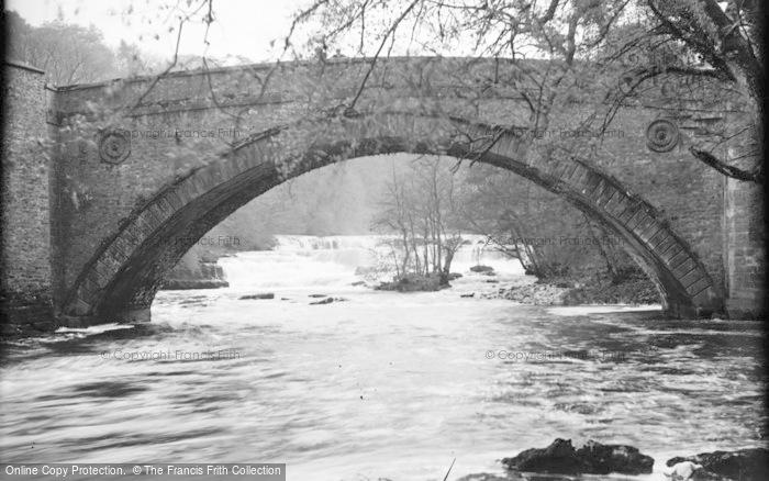 Photo of Aysgarth, Bridge Falls c.1932