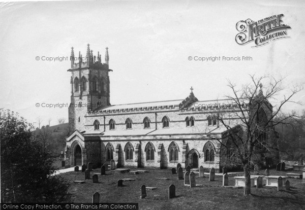 Photo of Aysgarth, Church 1889