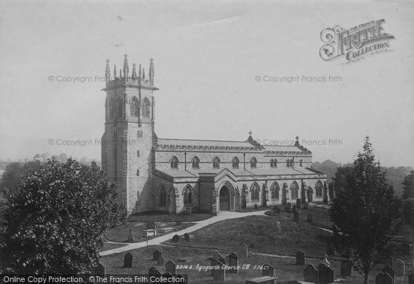 Photo of Aysgarth, Church 1893