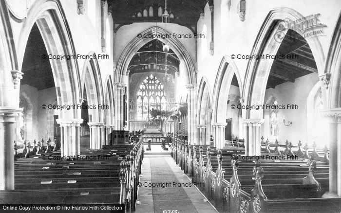 Photo of Aysgarth, Church Interior 1909