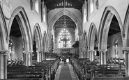 Aysgarth, Church Interior 1925