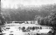 Aysgarth, Foss, Upper Falls 1887