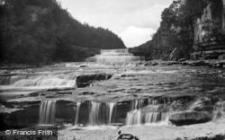 Lower Falls 1887, Aysgarth