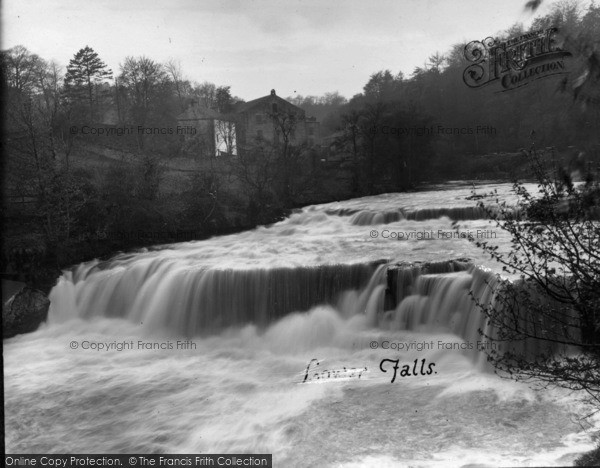 Photo of Aysgarth, Lower Falls c.1935
