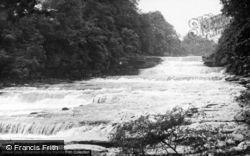 Lower Falls c.1955, Aysgarth