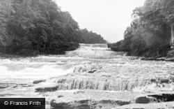 Aysgarth, Lower Falls c.1955