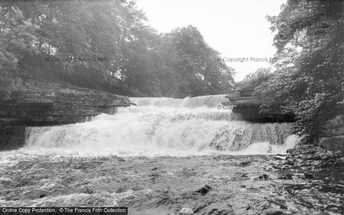 Photo of Aysgarth, Lower Falls c.1955