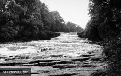 Aysgarth, Lower Falls c.1960