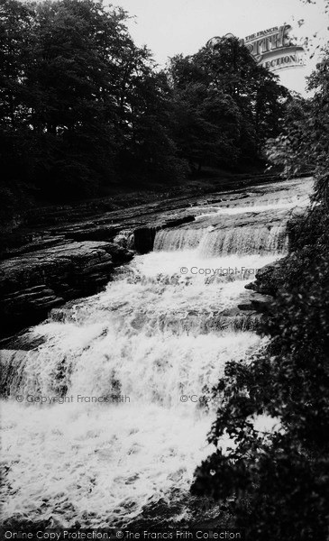 Photo of Aysgarth, Lower Force c.1960