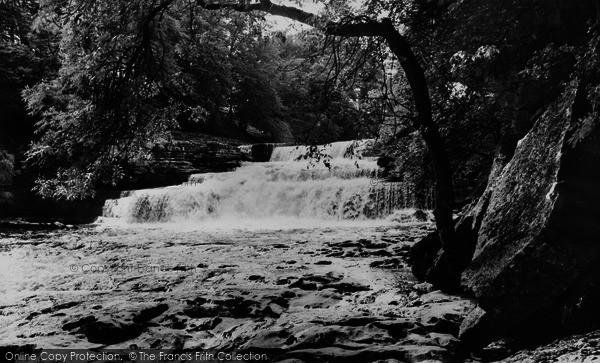 Photo of Aysgarth, Lower Force c.1960