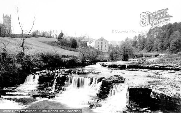 Photo of Aysgarth, Middle Falls 1889