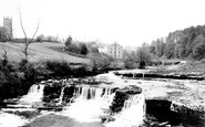 Aysgarth, Middle Falls 1889