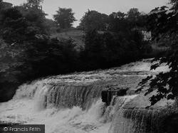 Aysgarth, Middle Falls c.1955