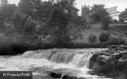 Middle Falls c.1955, Aysgarth
