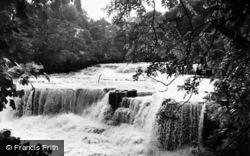 Aysgarth, Middle Falls c.1960