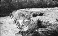 Aysgarth, Middle Falls c.1960