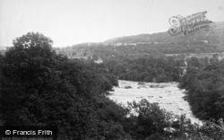 Aysgarth, River Ure 1887