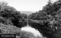 Aysgarth, River Ure c.1955