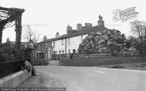 Aysgarth, Rockery Corner c.1935