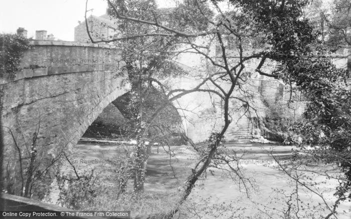 Photo of Aysgarth, The Bridge And River c.1932