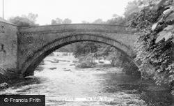 Aysgarth, The Bridge c.1955