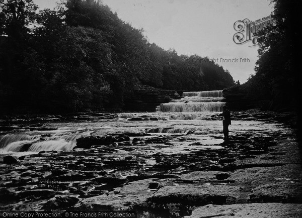Photo of Aysgarth, The Falls c.1935