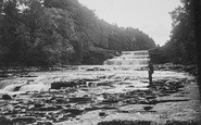 Aysgarth, The Falls c.1935