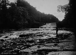 Aysgarth, The Falls c.1935