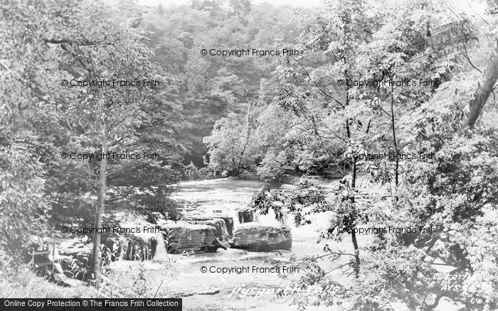 Photo of Aysgarth, The Falls c.1960