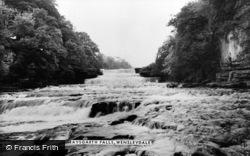 Aysgarth, The Falls c.1960