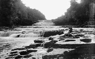Aysgarth, The Lower Falls c.1935