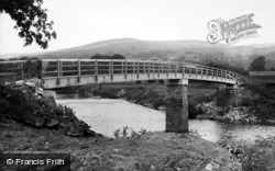 Aysgarth, The New Bridge c.1955