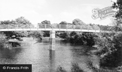 Aysgarth, The New Bridge c.1960