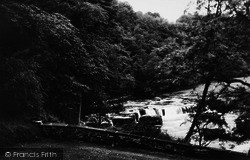Aysgarth, The Upper Falls c.1935