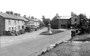 Aysgarth, the Village and War Memorial c1955