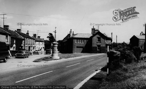 Photo of Aysgarth, The Village c.1965