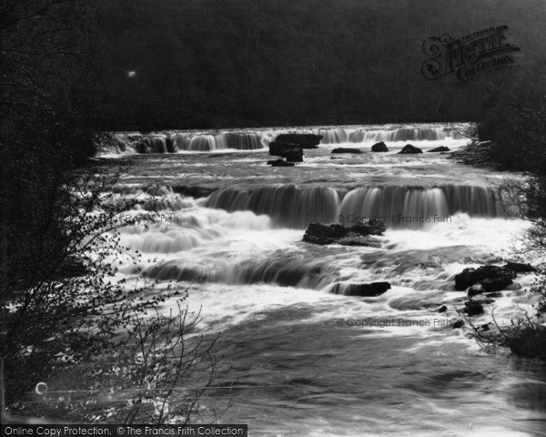 Photo of Aysgarth, Upper And Middle Falls c.1935
