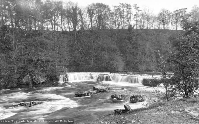 Photo of Aysgarth, Upper Falls And Woods c.1932