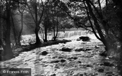 Aysgarth, Upper Falls c.1935