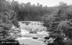 Upper Falls c.1955, Aysgarth