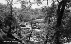 Upper Falls c.1960, Aysgarth