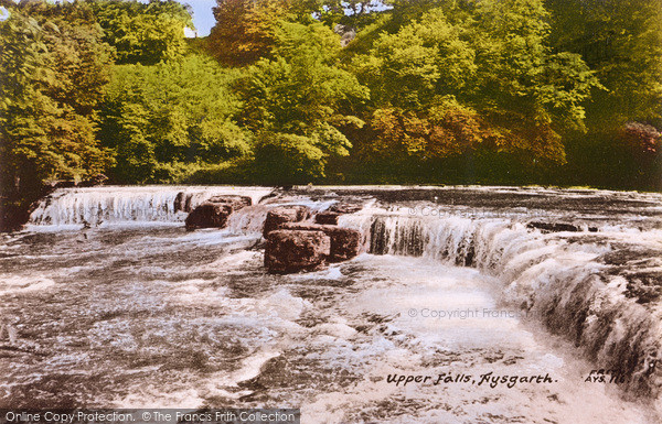 Photo of Aysgarth, Upper Falls c.1960