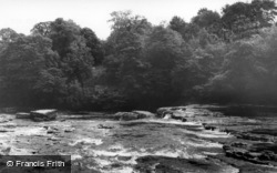 Aysgarth, Upper Falls c.1965