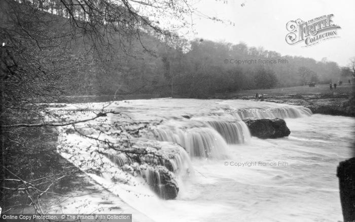 Photo of Aysgarth, Upper Falls From Goit c.1932