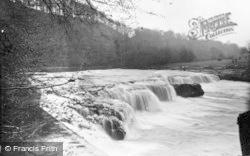 Aysgarth, Upper Falls From Goit c.1932