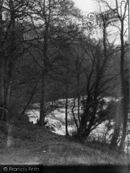Aysgarth, Upper Falls From Woods c.1932