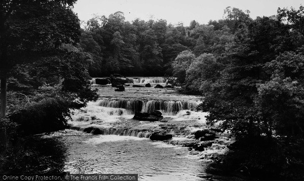 Photo of Aysgarth, Upper Force c.1960