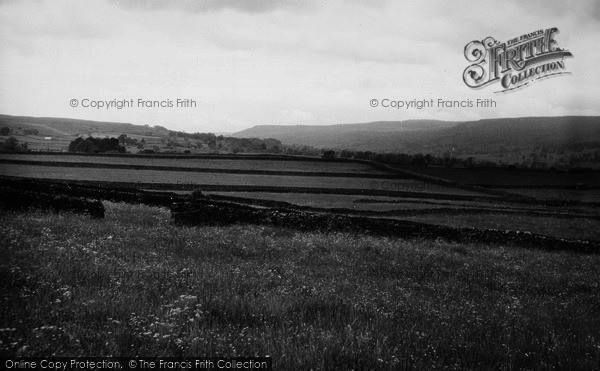 Photo of Aysgarth, View From Kel Spring c.1960