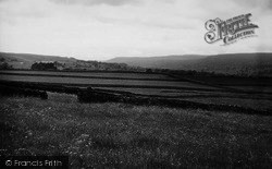 Aysgarth, View From Kel Spring c.1960