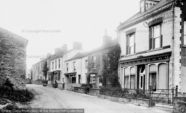 Photo of Aysgarth, Village 1908